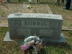 Edna A <i>Johnston</i> Burris