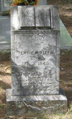 Tempie Malinda <i>Pierce</i> Allen