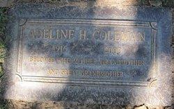 Adeline H Coleman