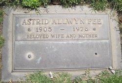 Astrid <i>Allwyn</i> Fee