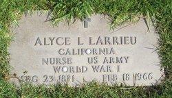 Alyce L Larrieu