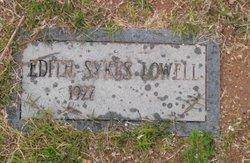 Edith Sykes Lowell