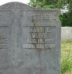 Mary Elizabeth <i>Sides</i> Olive