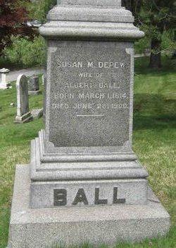 Susan M. <i>Depew</i> Ball