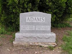Junia Dean Adams
