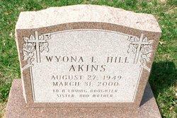Wyona L. <i>Hill</i> Akins