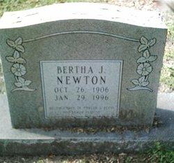 Bertha J. <i>Springer</i> Newton