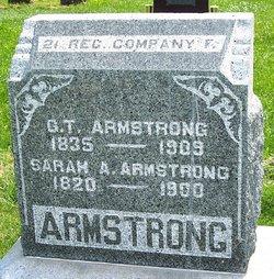 Sarah Angeline <i>Hull</i> Armstrong