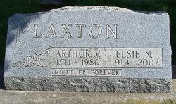 Elsie Nina <i>Eastman</i> Plaxton