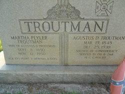 Martha <i>Plyler</i> Troutman