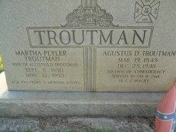 Agustus Davidson Troutman