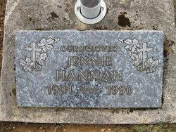 Jennie Ann Hannah