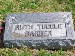 Ruth <i>Tuggle</i> Barber