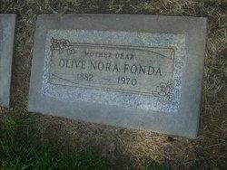 Olive Nora Fonda