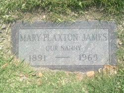 Mary <i>Plaxton</i> James