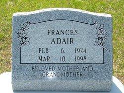 Frances <i>Maddox</i> Adair