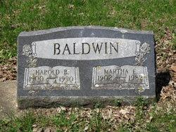 Harold B. Baldwin