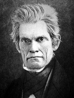 John C Calhoun senator from
