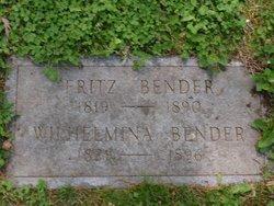 Wilhelmina Bender