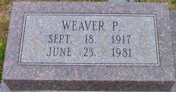 Weaver P Thomasson