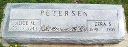 Alice Melvina <i>Holmes</i> Petersen