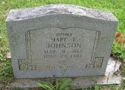 Mary E. <i>Martin</i> Johnson