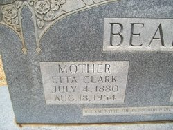 Etta <i>Clark</i> Beard