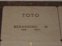Berardino M Toto