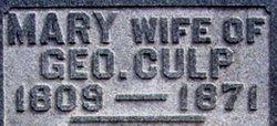 Mary <i>Burton</i> Culp