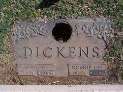 Nonnie Lee <i>Holcomb</i> Dickens