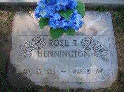 Rose Thelma Hennington