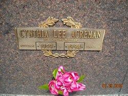 Cynthia Lee Acreman