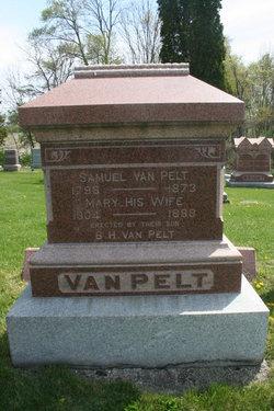 Mary M <i>Morrow</i> VanPelt
