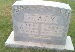 Frances M. <i>Shrader</i> Beaty