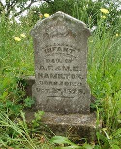 Infant Daughter Hamilton