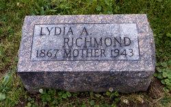 Lydia Ann <i>Hall</i> Richmond