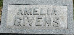 Amelia <i>Givens Sugg</i> Givens