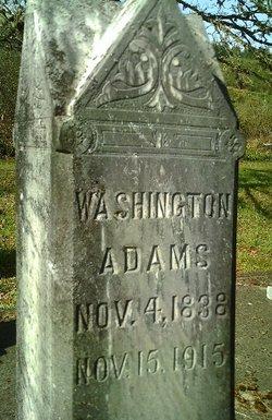 Washington George Adams