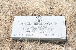 Mack Beckworth