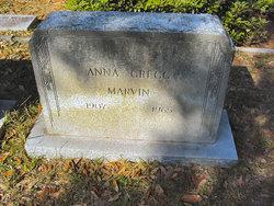 Anna <i>Gregg</i> Marvin