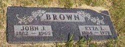 Etta Lilly <i>Miller</i> Brown