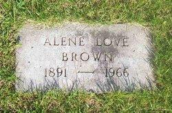 Alene <i>Love</i> Brown