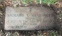 Sgt Richard Lee Dearinger