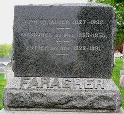 Esther E <i>Davis</i> Faragher