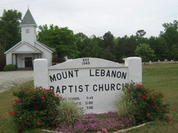 Mount Lebanon Baptist Church  Cemetery