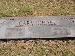 Amelia Ann <i>Webster</i> Carmichael