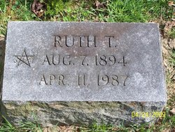 Ruth T. Bowdish