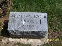 Dorothy B. <i>Brush</i> Bowdish