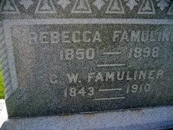 George W Famuliner