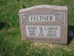 Mary M <i>Lamar</i> Feltner
